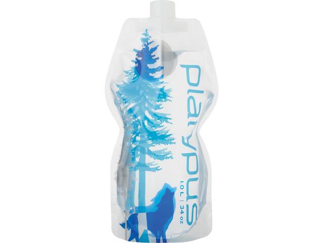 Platypus SoftBottle CC 1000ml, wild blue